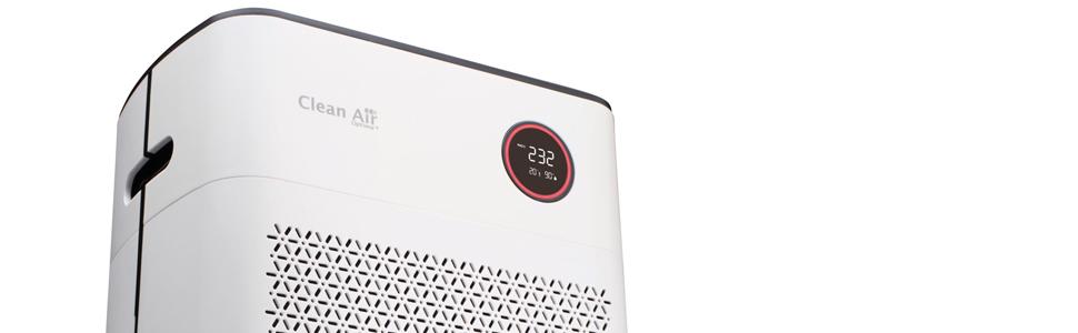 Clean Air Optima Purificador de Aire Inteligente con ionizador y HEPA CA-510Pro: Amazon.es: Hogar