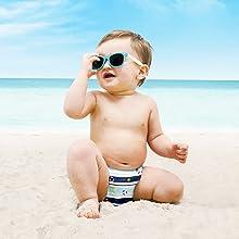 Bambino Mio Réutilisable Swim Nappy Dauphin 2+yrs 12-15kgs