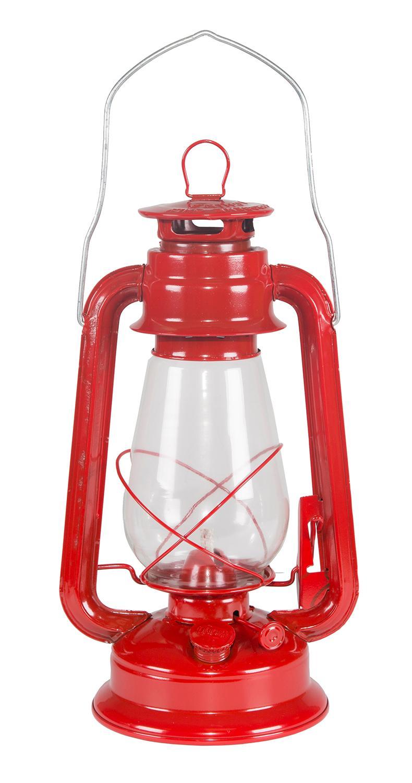 Stansport Hurricane High Oil Lantern (Red, 12-Inch ...