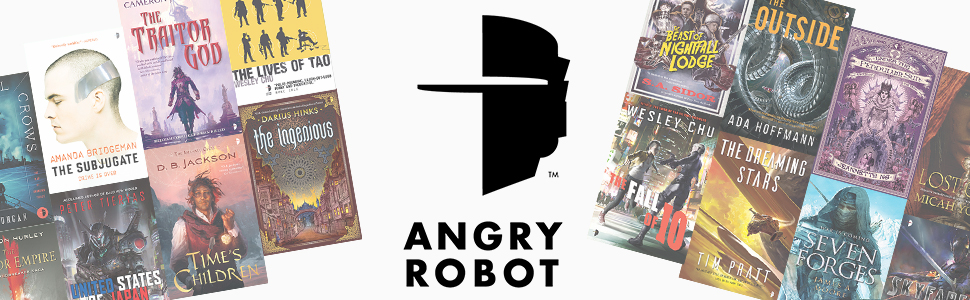 Angry Robot, science fiction, fantasy, publisher, best SFF