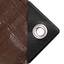 Park Ridge Products TRP0810 All Purpose 8X10 Brown//Silver