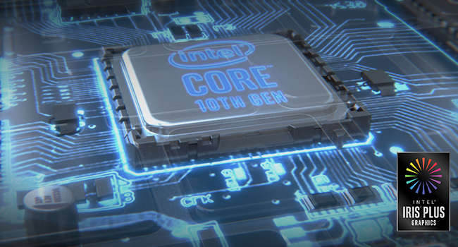intel core 10th gen iris plus