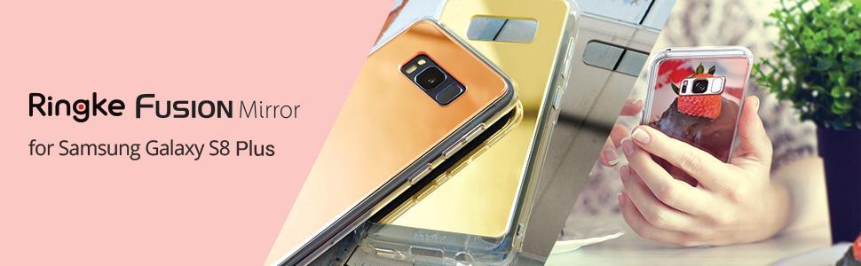 Huse Ringke Mirror pentru Samsung Galaxy S8 Plus