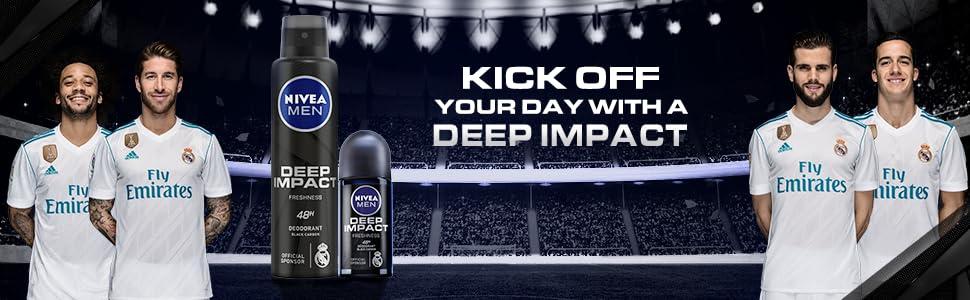 Nivea Deep Impact Range