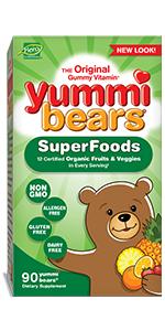 Yummi Bears SuperFoods