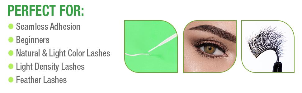 DUO Brush-On Lash Adhesive with Vitamins A, C amp; E, Clear, 0.18 oz
