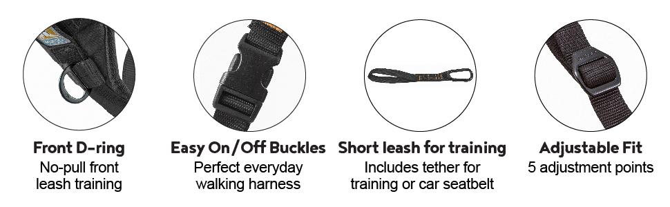 dog harness, dog vest harness, basic halter harness, dog walking harness, easy buckle dog harness