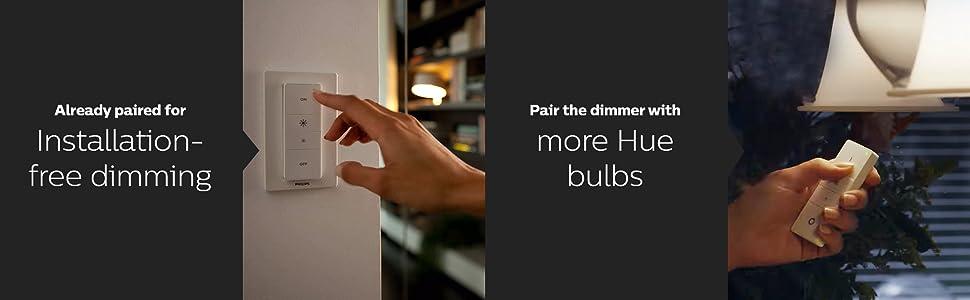 installation free hue bulb