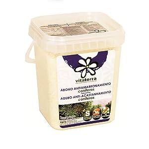 Abono anti-amarronamiento para coniferas