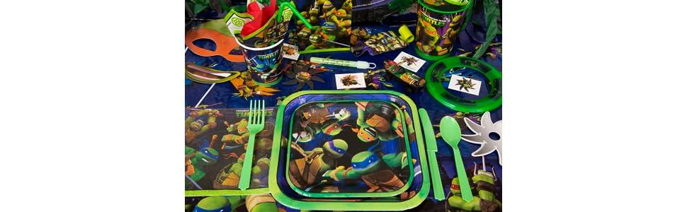 Amazoncom Teenage Mutant Ninja Turtles Party Invitations 8ct