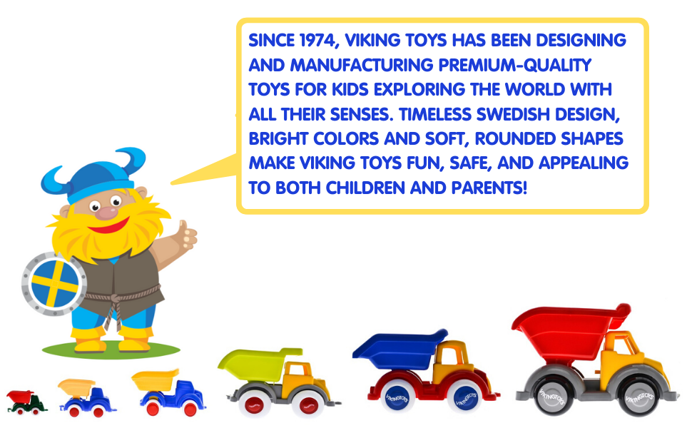 Viking Toys, Sweden, Swedish, Design, Classic, Simple, Modern, Safe, Simple, Cars, Trucks, Toddlers