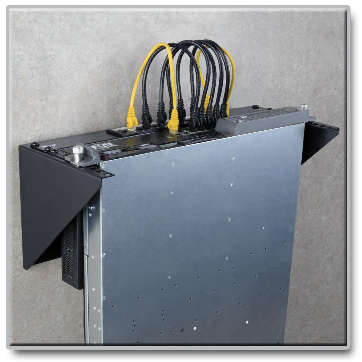 Amazon Com Plantronics Tripp Lite Wallmount Rack 4u