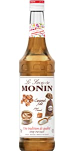 Monin Syrup Mix Mixer Concentrate Flavour Sweet Fruity Juicy Convenient Coffee Dessert Soda Vegan