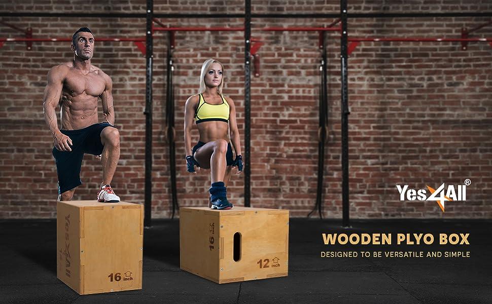 Wooden Plyo Box Header