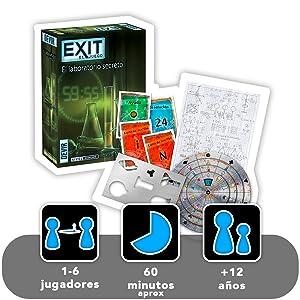 exit el laboratorio secreto devir juego de mesa divertido diversion jugar regalo amigos familia