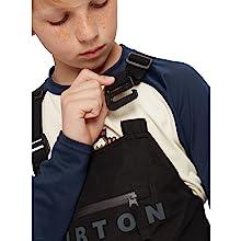 burton kids goretex jacket bib pants outerwear winter snow ski