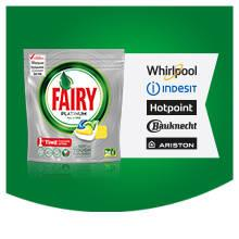 Fairy Platinum Lemon DishWasher Tablets