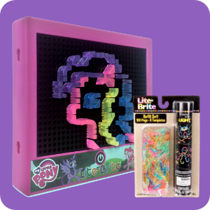 Image of MLP Lite Brite and Lite Brite Refill Pack