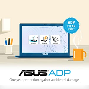 "Asus Vivobook K570ZD Laptop, 15.6"" FHD IPS-Level, AMD Quad Core Ryzen 5 2500U up to 3.6 GHz, GeForce GTX 1050 Graphics, 8GB DDR4 RAM, 256GB PCIe SSD, ..."