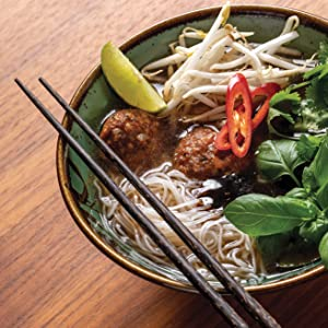 meatballs, pho, soup, leftovers, sam the cooking guy, recipes, cookbook