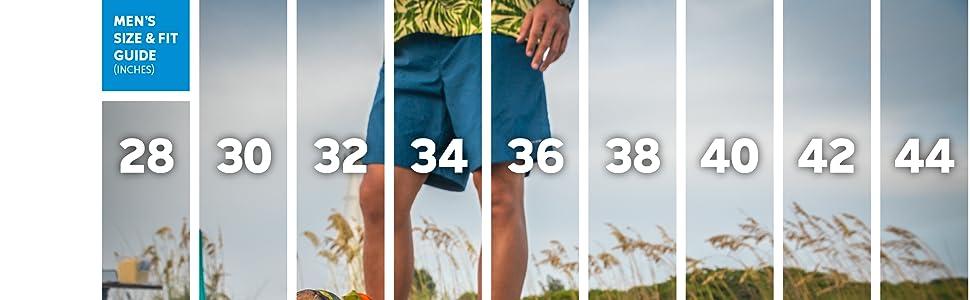 Men's Shorts sizing