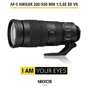 AF-S NIKKOR 200-500 mm 1:5,6E ED VR