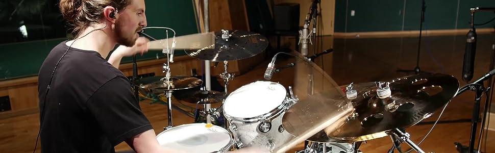 DishyKooker Almohadilla de Tambor de Entrenamiento de pr/áctica de Tambor Mudo de Madera de 12 Pulgadas para el Ejercicio de bater/ía de Jazz