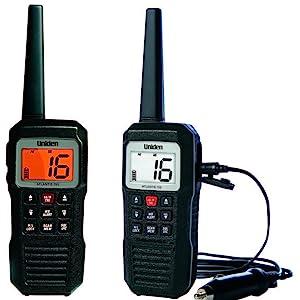 atlantis 155 Uniden marine radio black day and night screen mode