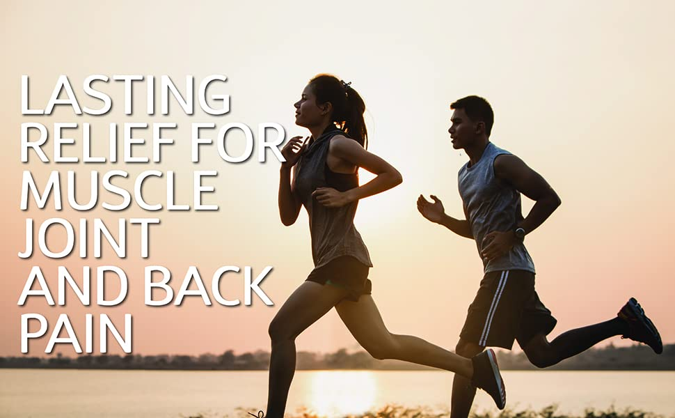lasting relief for muscle joint and back pain