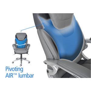 Pivoting Air lumbar support