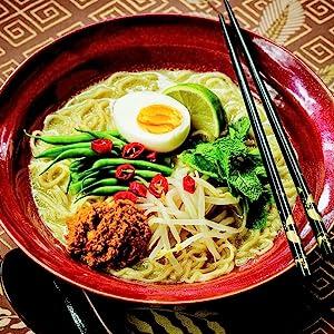 Malaysian Curry Laksa Ramen