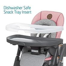 Dishwasher Safe Snack Tray Insert