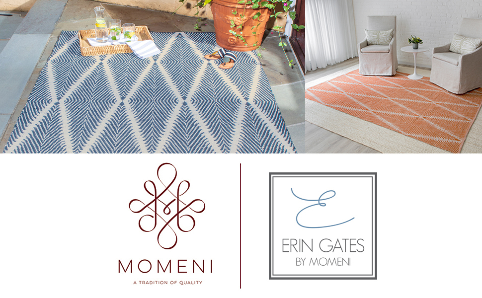 momeni river rug riv erin gates chic design graphic modern wool tufted colorful geometric floral