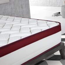 Imperial Confort Colchón Viscoelástico, Blanco, 110 x 190 x 25 cm