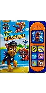 Paw Patrol - Ready, Set, Rescue! Sound Board Book