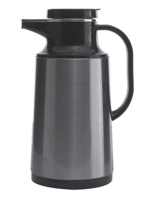 Service Ideas Touch Coffee Carafe 1 Liter Stainless Industrial Scientific