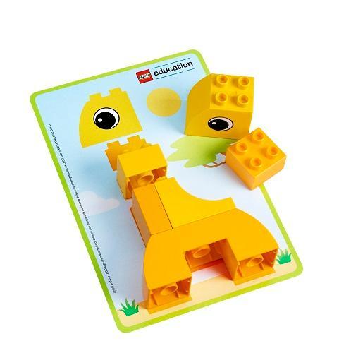 Amazon.com: Animal Bingo Game for Shape and Color ...