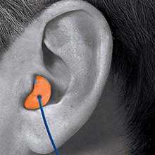 disposable earplugs, hi-viz earplugs, detectable  earplugs