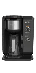 ninja hot and cold brew system, coffee brewer, tea brewer, cold brew, coffee bar, iced tea maker