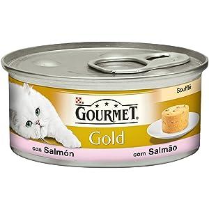 Purina Gourmet Mon Petit comida para gatos con Atún, Salmón y ...