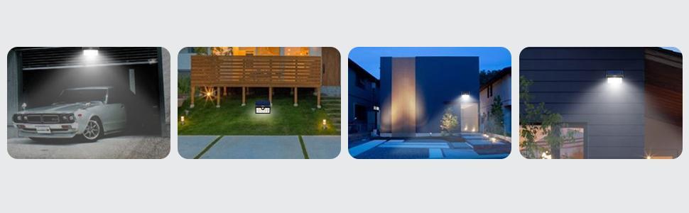 Mpow 42LED Plegable Luz Solar,Sensor de Movimiento,Luz Exterior Portátil,Luz de Pared Brillante,Ángulo de Detección de 120°,Gran Luz Exterior para Acampar,Jardín,Calzada,Cercado,Garaje: Amazon.es: Hogar