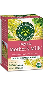Traditional Medicinals Organic Mother's Milk Women's Tea