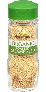 McCormick Gourmet Organic Toasted Sesame Seed