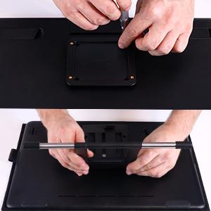 Wacom standı, Cintiq, anker, ayarlanabilir, çizim tableti, grafik ekran, aksesuar