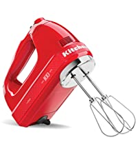 KitchenAid, Hand Mixer, 7 Speed, Red, 100 Year, Limited Edition, Queen of Hearts