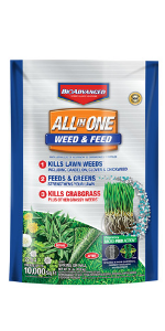 weed and feed lawn grass herbicide crabgrass