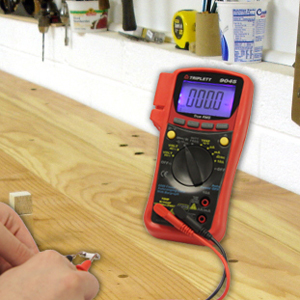 digital multi tester with ac/dc votlage and current, resistance, continuity, diode test, capacitance
