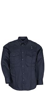 5.11 tactical pdu shirt tee tshirt t-shirt blue police department clothing