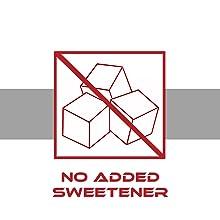 no added sweetener