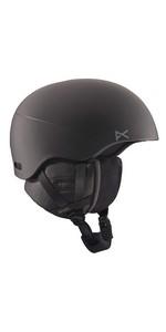 Anon(アノン) ヘルメット スキー スノーボード メンズ HELO 2.0 2018-19年モデル BLACK
